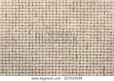 Coarse Thick Woven Fabric Of Synthetic Fibers As Background