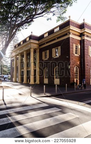 View Of The Manly Municipal Council House. Sydney. Australia