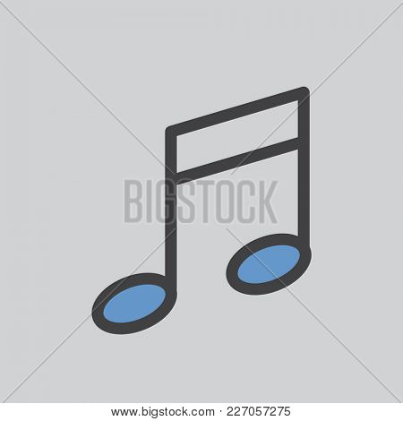 Illustration of music icon