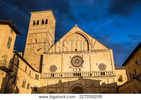 Cathedral Of San Rufino - Assisi, Province Of Perugia, Umbria Region, Italy, Europe