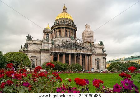 St Isaac Cathedral In Saint Petersburg Russia Is The Biggest Christian Orthodox Church