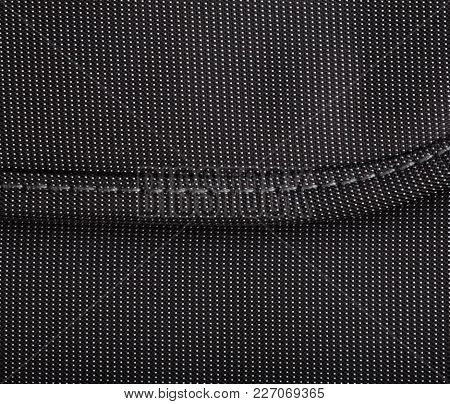 Image Of One Black Bag With Dots