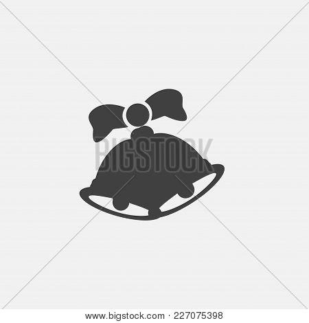 Bell Icon Vector Illustration. Jingle Icon Vector