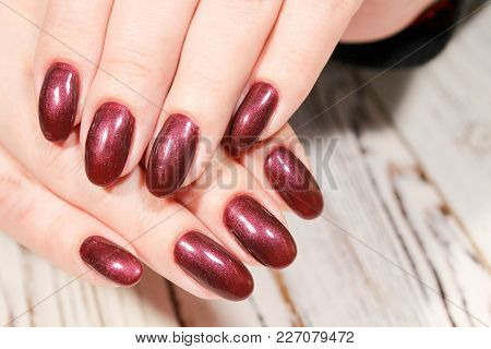 Stylish Design Of Manicure