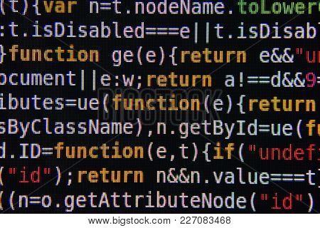 Program Code On Screen