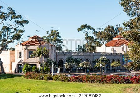 San Diego, California - February 17, 2018: The Fleet Science Center In Balboa Park, A Science Museum