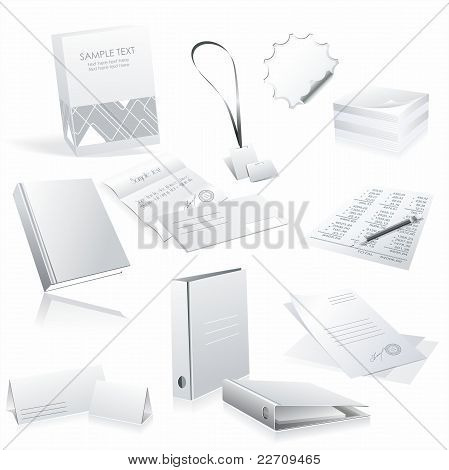 White office elements