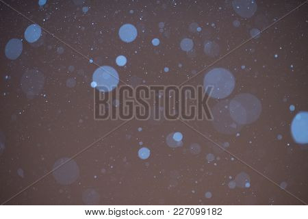 Background Texture Of Snow, In The Dark, For Any Purpose