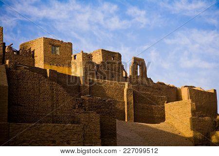 The Temple Of Horus In Edfu, Egypt