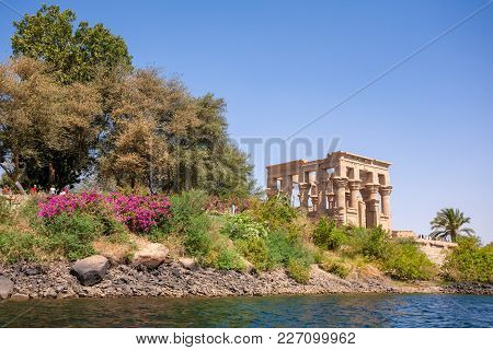The Ancient Temple Of Philae In Egypt