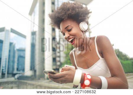 Enjoying some good music