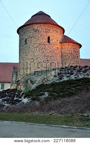 Old Romanesque Rotunda, City Znojmo, South Moravia, Czech Republic,europe