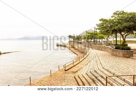 View Repulse Bay Beach In The Southern Part Of Hong Kong Island