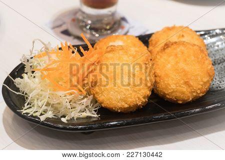 Image Of The Japanese Food. Japanese Style Breakfast.