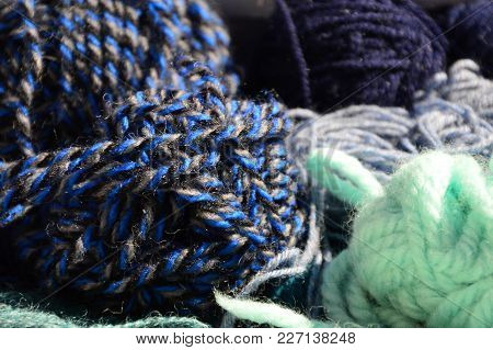 Colorful Multicolored Wool For Knitting (hand Craft)