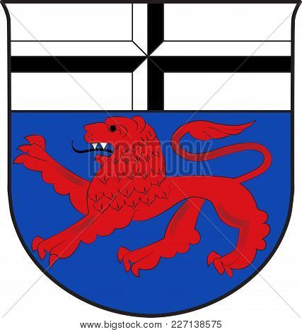 Coat Of Arms Of Bonn Is A Municipal District Of Bonn In North Rhine-westphalia In Germany. Vector Il