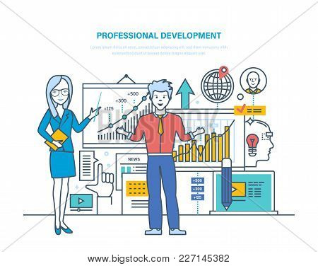 Professional Development. Professional Qualities, Modernization Individual And Ethics, Improvement S