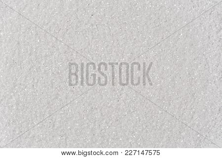 White Glitter. Low Contrast Photo. High Resolution Image
