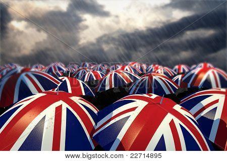UK Umbrella Flags