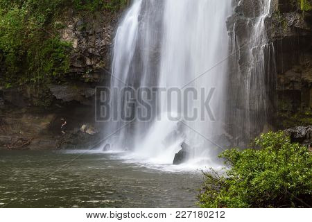 Gorgeous Waterfall In Costa Rica
