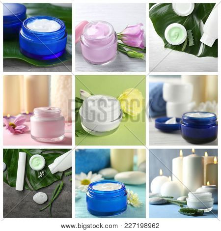 Collection of body cream with natural extracts