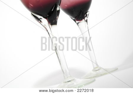 Exclusive Red Glass