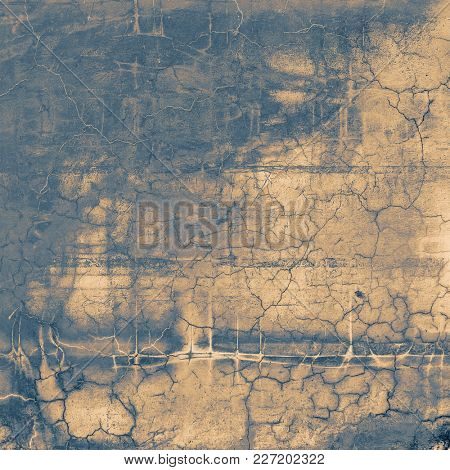 Vintage textured background with copy space. Old style backdrop with different color patterns