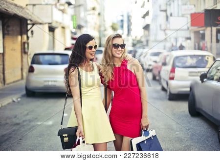 Shopping with a friend