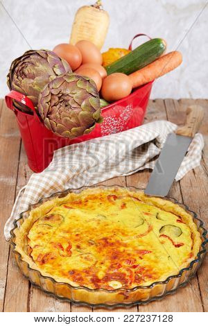 Savory Cake With Vegetables