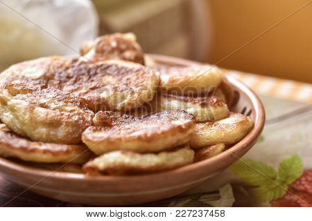 Freshly Made Pancakes. Breakfast Ideas.american Food,good Morning