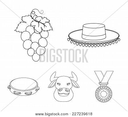 The Hat Of The Todeador, The Matador, A Bunch Of Grapes With Fists, A Bull For The Spanish Bullfight