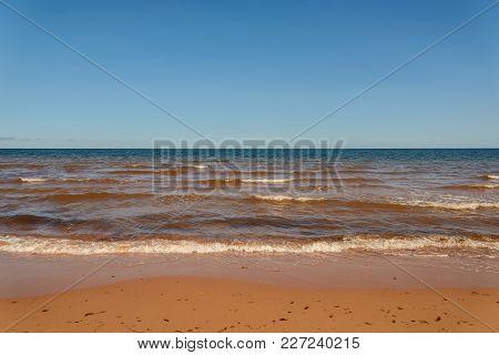Cavendish Beach In Prince Edward Island National Park (prince Edward Island, Canada)