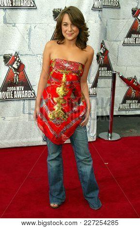 LOS ANGELES - JUN 05:  Alexa Vega arrives to the Mtv Movie Awards  on June 5, 2004 in Culver City, CA.