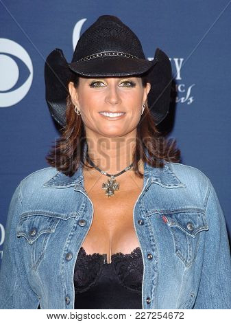 LOS ANGELES - MAY 24:  Terri Clark arrives to the Academy of Country Music Awards  on May 24, 2004 in Las Vegas, NV