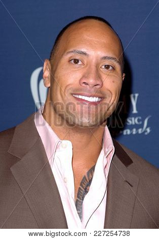 LOS ANGELES - MAY 24:  Dwayne Johnson arrives to the Academy of Country Music Awards  on May 24, 2004 in Las Vegas, NV