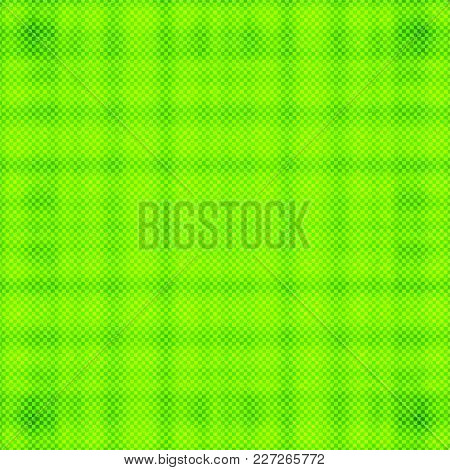Bright Green Halftone Background. Vector Modern Background For Posters, Brochures, Sites, Web, Cards