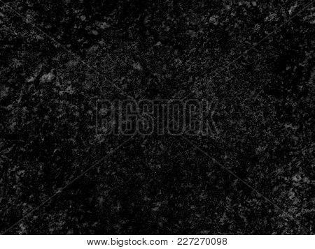 Natural Seamless Granite Stone Texture Pattern Background. Natural Black Granite Seamless Stone Text