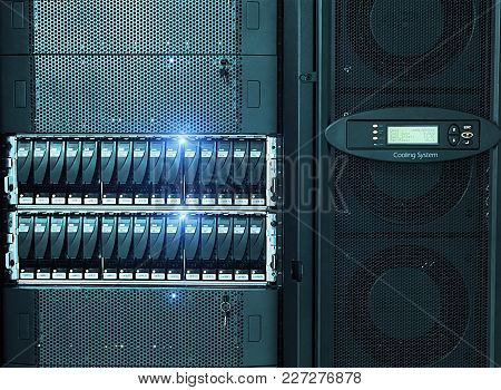The Network Servers In A Data Center.