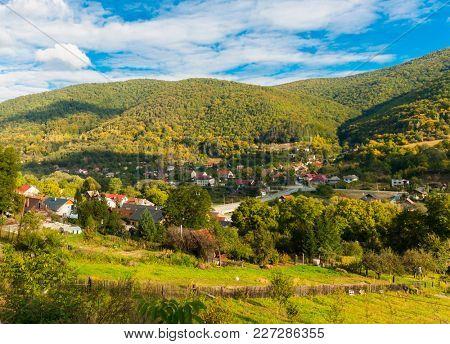Small Slovak town of Mala Lodina