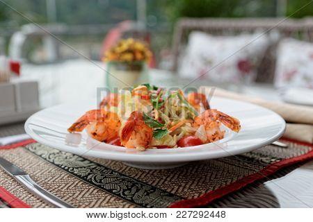 Shrimp appetizer, light summer dish