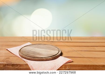 Table Empty Cloth Tray Objects Object Space