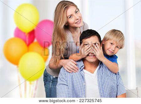 Beautiful Family Room Fun Human Love Female