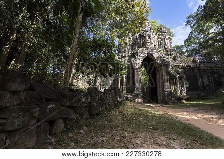 Siem Reap Angkor Wat Angkor Thom East Gate, Gate Of The Dead