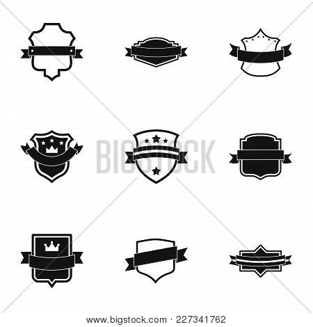 Ensign Icons Set. Simple Set Of 9 Ensign Vector Icons For Web Isolated On White Background