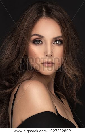 Beauty Portrait Of Elegant Woman .