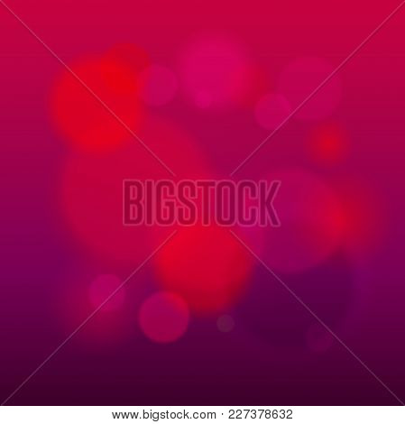 Abstract Modern Lights Background Defocused And Gradient Texture. Warm Color Blurred Backdrop. Vivid
