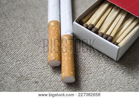 Cigarette Man Enjoys It Before It Gives You Worries, Makes Cancer, Please Do Not Smoke ...