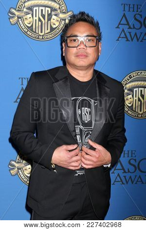 LOS ANGELES - FEB 17:  Matthew Libatique at the 32nd American Society of Cinematographers Awards at Dolby Ballroom on February 17, 2018 in Los Angeles, CA