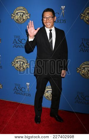 LOS ANGELES - FEB 17:  Daniel Dae Kim at the 32nd American Society of Cinematographers Awards at Dolby Ballroom on February 17, 2018 in Los Angeles, CA