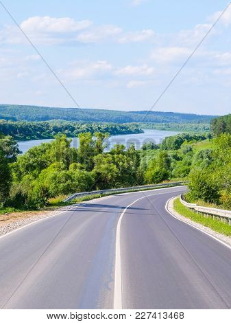Landscape with country road